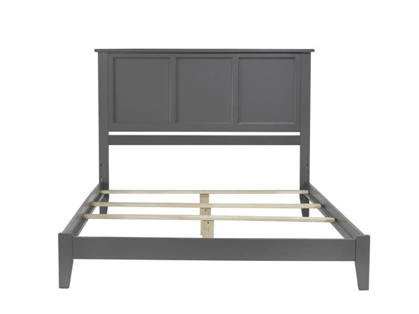 Atlantic Furniture Madison Grey Queen Traditional Bed AR8641039