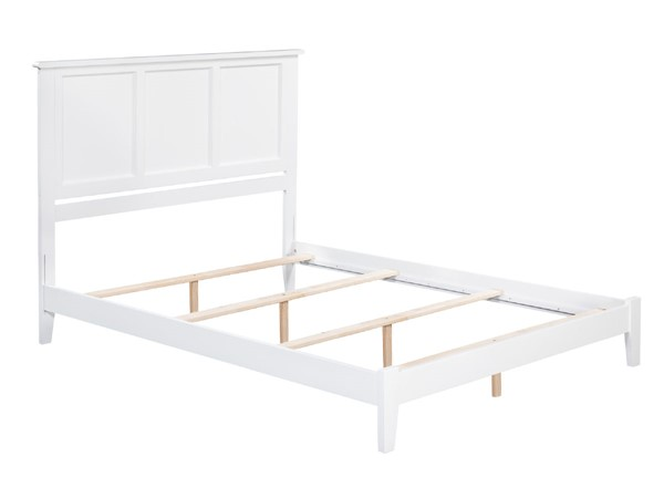 Atlantic Furniture Madison White Traditional King Bed AR8651032