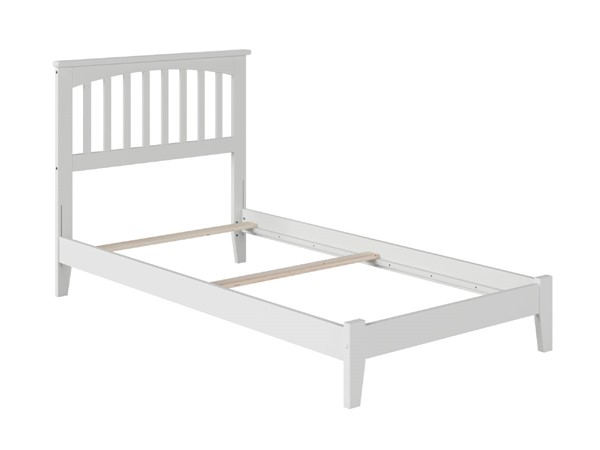 Atlantic Furniture Mission White Twin XL Platform Bed AR8711032