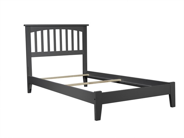 Atlantic Furniture Mission Grey Twin XL Platform Bed AR8711039