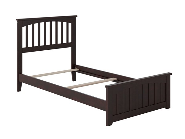 Atlantic Furniture Mission Espresso Matching Foot Board Twin XL Panel Bed AR8716031