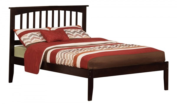 Mission Espresso Wood Full Platform Open Foot Bed AR8731001