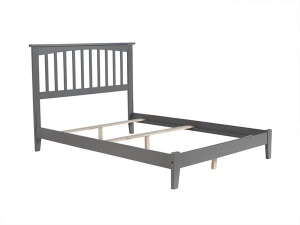 Atlantic Furniture Mission Grey Full Platform Bed AR8731039