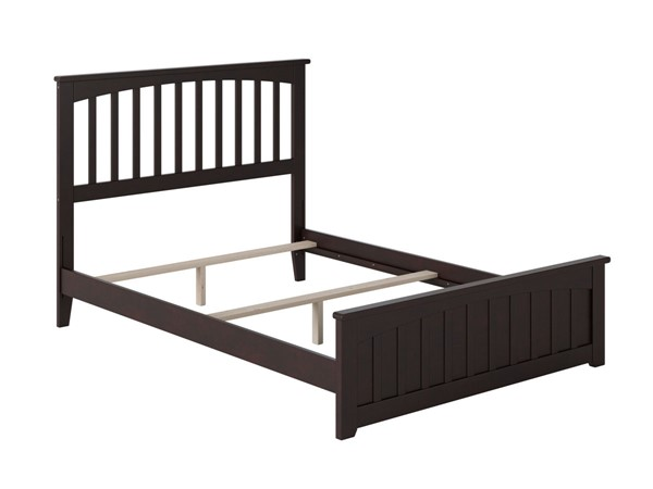 Atlantic Furniture Mission Espresso Matching Foot Board Full Panel Bed AR8736031