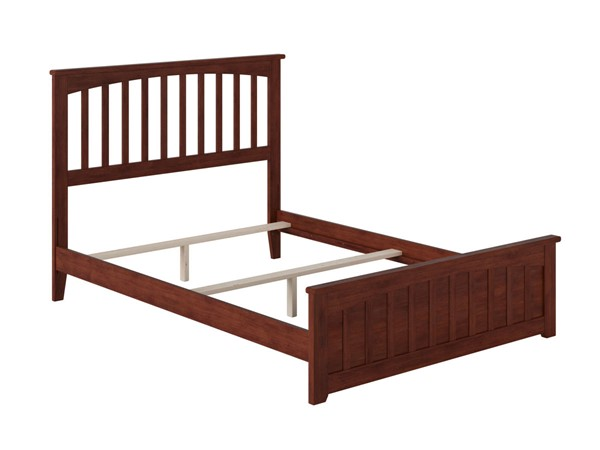 Atlantic Furniture Mission Walnut Matching Foot Board Full Panel Bed AR8736034