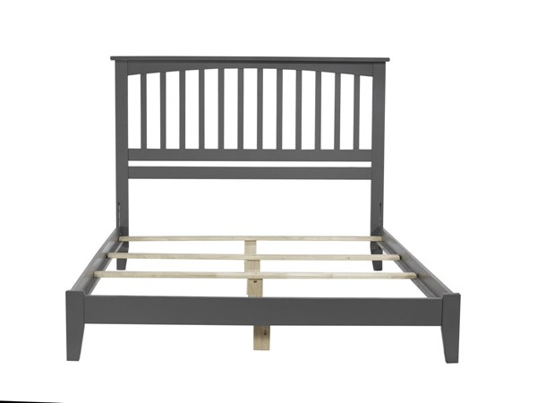 Atlantic Furniture Mission Grey Queen Traditional Bed AR8741039