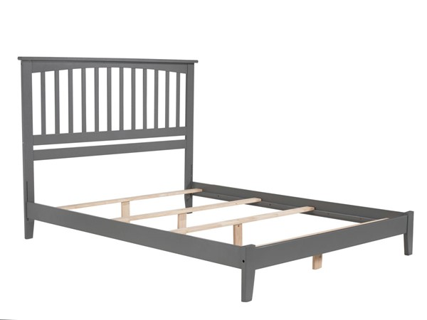 Atlantic Furniture Mission Grey King Platform Bed AR8751039