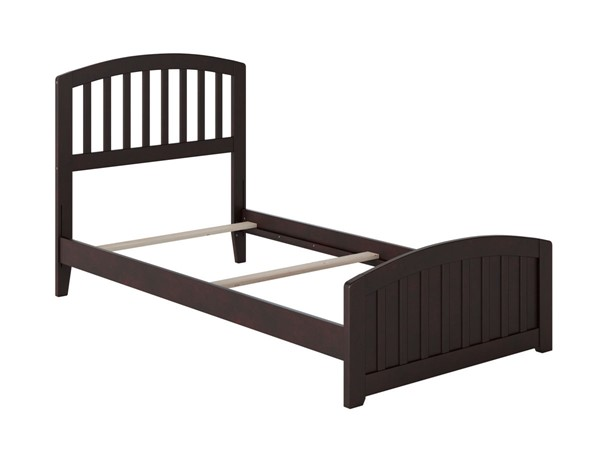 Atlantic Furniture Richmond Espresso Twin XL Panel Bed with Matching Foot Board AR8816031