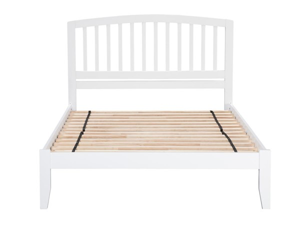 Atlantic Furniture Richmond White Full Open Foot Bed AR8831002