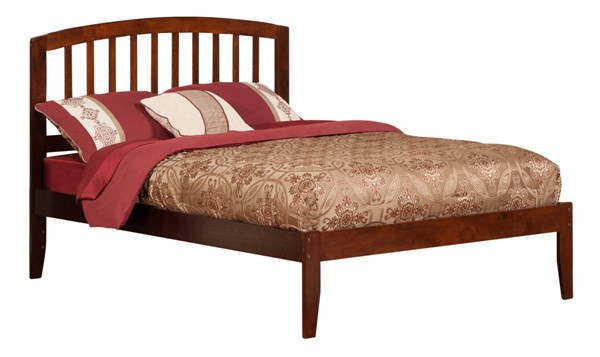 Richmond Walnut Wood Full Platform Open Foot Bed AR8831004