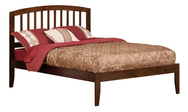 Atlantic Furniture Richmond Walnut Full Open Foot Bed AR8831004