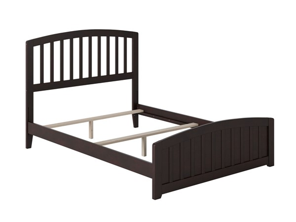 Atlantic Furniture Richmond Espresso Full Panel Bed with Matching Foot Board AR8836031