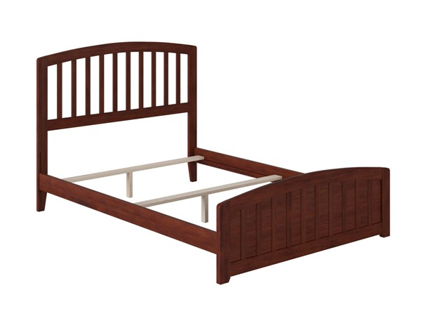Atlantic Furniture Richmond Walnut Full Panel Bed with Matching Foot Board AR8836034