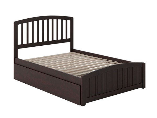 Atlantic Furniture Richmond Platform Urban Trundle Beds with Matching Foot Board AR883605-KBED-VAR