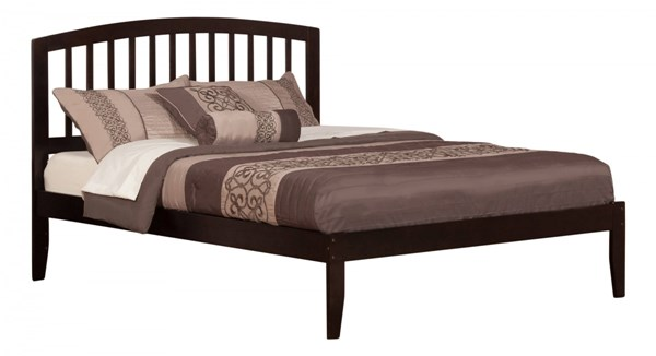 Richmond Espresso Wood Queen Platform Open Foot Bed AR8841001