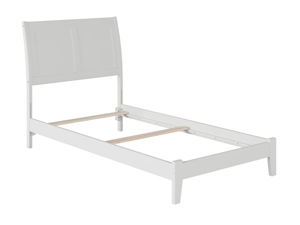 Atlantic Furniture Portland White Twin Bed AR8921032