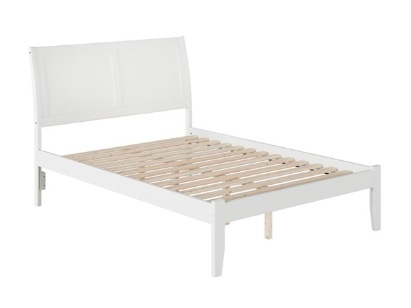 Atlantic Furniture Portland White Full Open Foot Bed AR8931002
