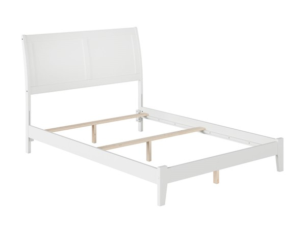 Atlantic Furniture Portland White Full Bed AR8931032