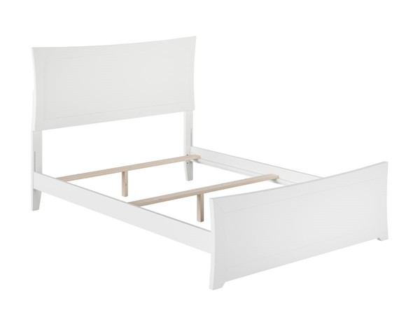Atlantic Furniture Metro White Matching Foot Board Full Bed AR9036032