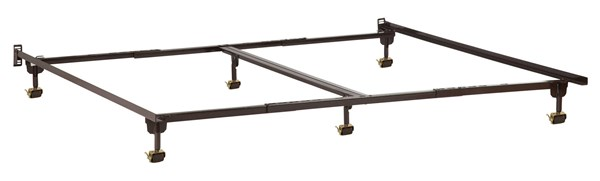 Twin-Full - TwinXL - Queen - King - Cal King Metal Bed Frame w/Rollers E-63166