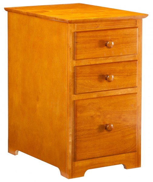Atlantic Furniture Caramel Latte Three Drawers File Cabinet H-80137