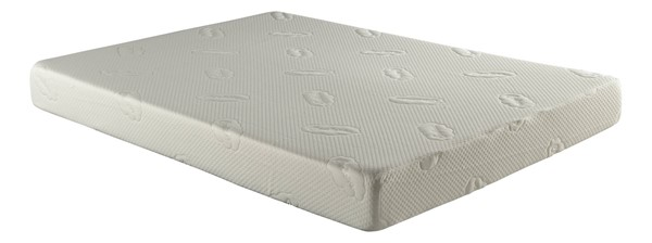 Atlantic Furniture Siesta Twin 6 Inch Memory Foam Mattress M-46102