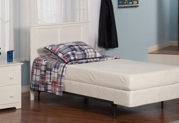Madison Classic White Solid Wood Metal Twin Headboard R-186822-HDBD-FRM