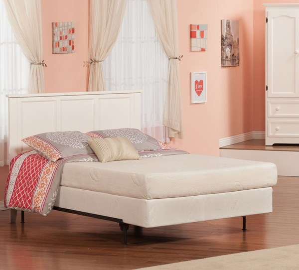 Madison Classic White Rubberwood Full Headboard Only R-186832