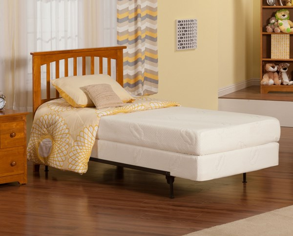 Mission Caramel Latte Solid Wood Twin Headboard Only R-187827