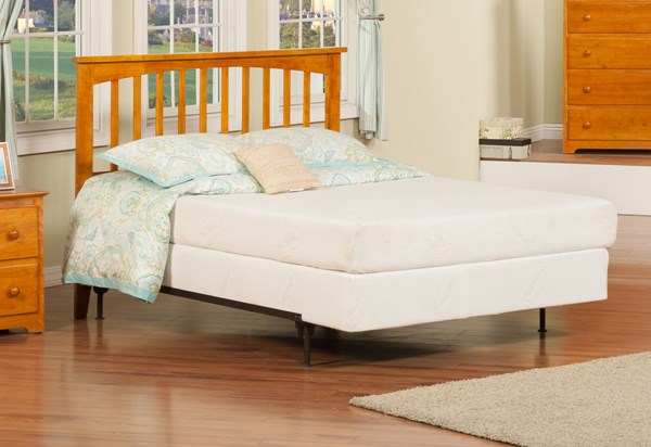 Mission Caramel Latte Solid Wood Full Headboard Only R-187837