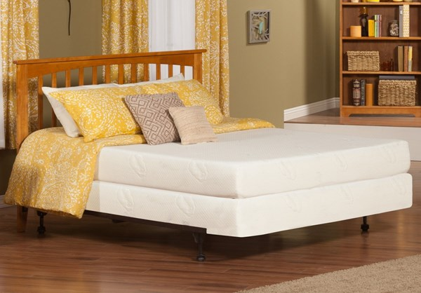 Mission Caramel Latte Solid Wood King Panel Headboard Only R-187857