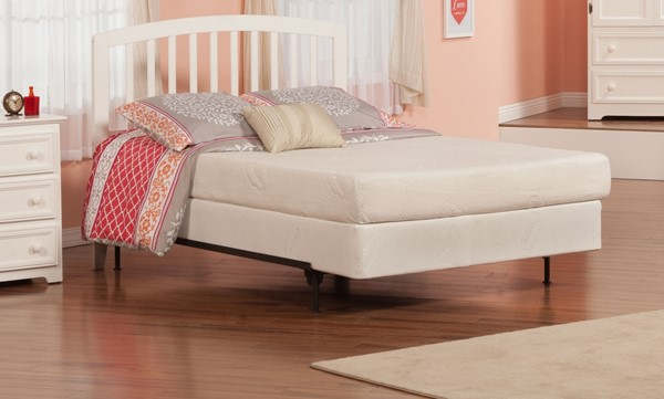 Richmond White Rubberwood Full Headboard Only R-188832