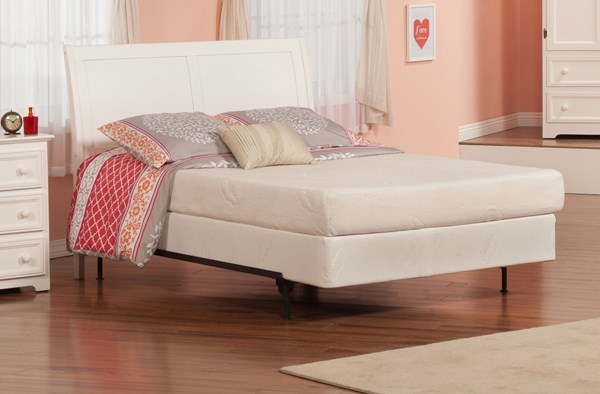Portland White Solid Wood Full Headboard Only R-189832