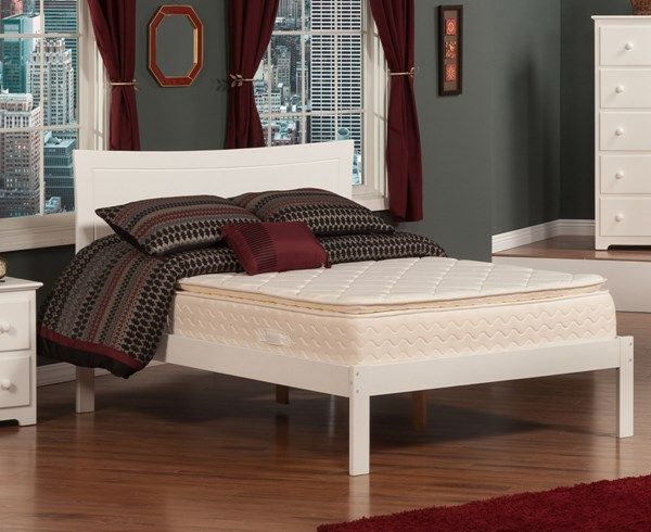 Metro White Rubberwood Full Headboard Only R-190832