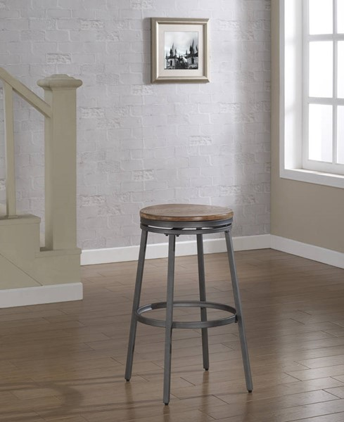 American Woodcrafters Stockton Backless Counter Stool AWC-B1-100-25W