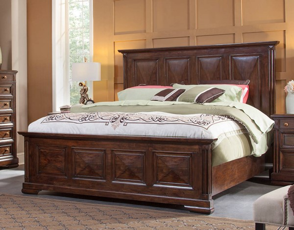 American Woodcrafters Tuscaloosa Panel Beds AWC-1707-BED-VAR