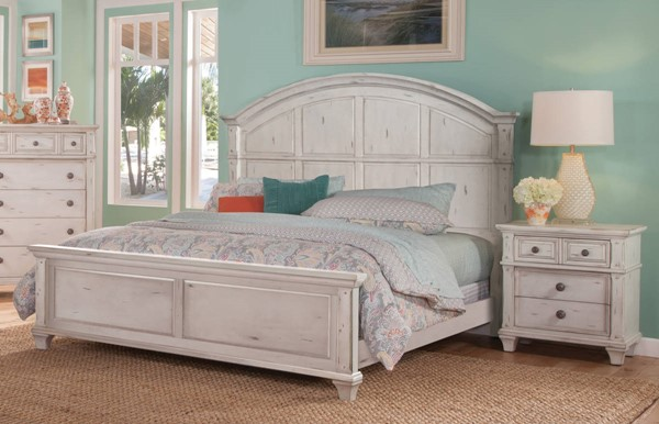 American Woodcrafters Sedona 2pc Bedroom Set with Queen Panel Bed AWC-2410-50-BR-S2