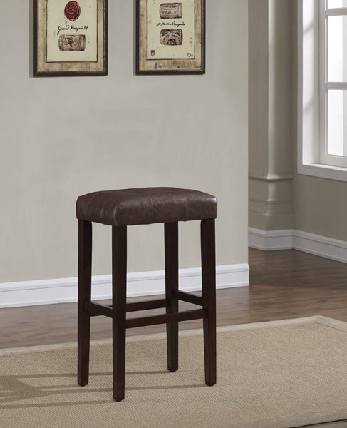 American Woodcrafters Taylor Backless Counter Stool AWC-B2-255-26L