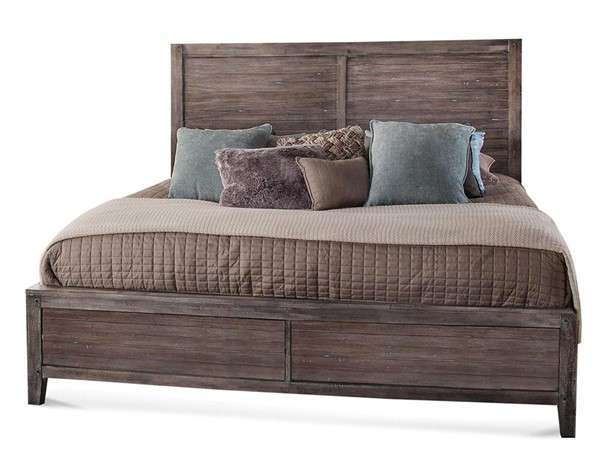 American Woodcrafters Aurora Weathered Grey Panel Beds AWC-2800-PNPN-BED-VAR