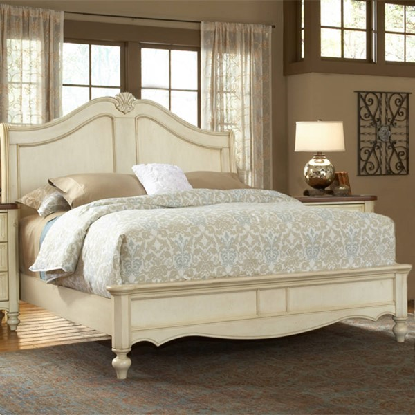 American Woodcrafters Chateau Queen Sleigh Bed AWC-3501-50SLE