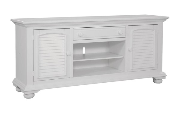 American Woodcrafters Cottage Traditions White 72 Inch Console AWC-6510-217