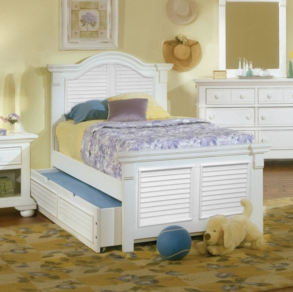American Woodcrafters Cottage Traditions Trundle Beds AWC-6510-TR-BED-VAR