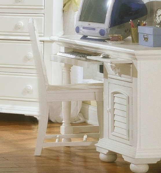 American Woodcrafters Cottage Traditions White Chair AWC-6510-774