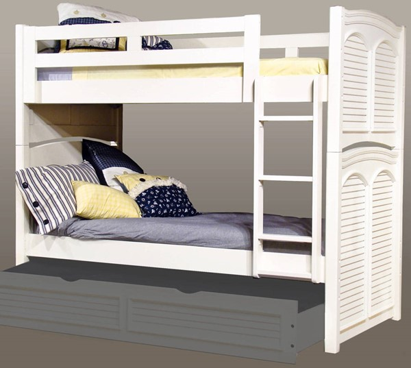American Woodcrafters Cottage Traditions Twin over Twin Bunk Bed AWC-6510-33BNK