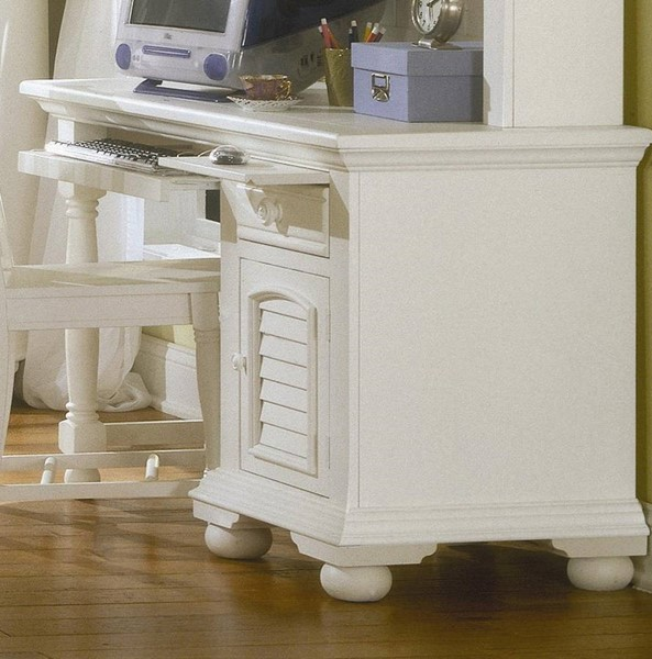 American Woodcrafters Cottage Traditions White Computer Desk AWC-6510-342