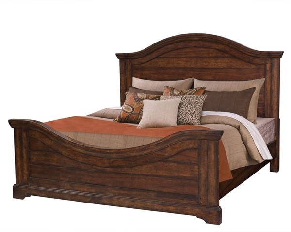 American Woodcrafters Stonebrook Panel Beds AWC-78-PAN-BED-VAR