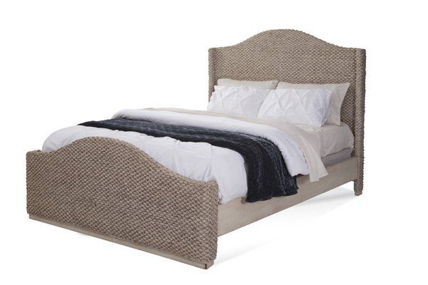 American Woodcrafters Seaside Whitewash Queen Beds AWC-8710A-BED-VAR