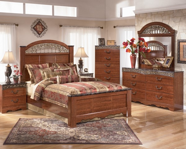 Ashley Furniture Fairbrooks Estate Master Bedroom Set B105