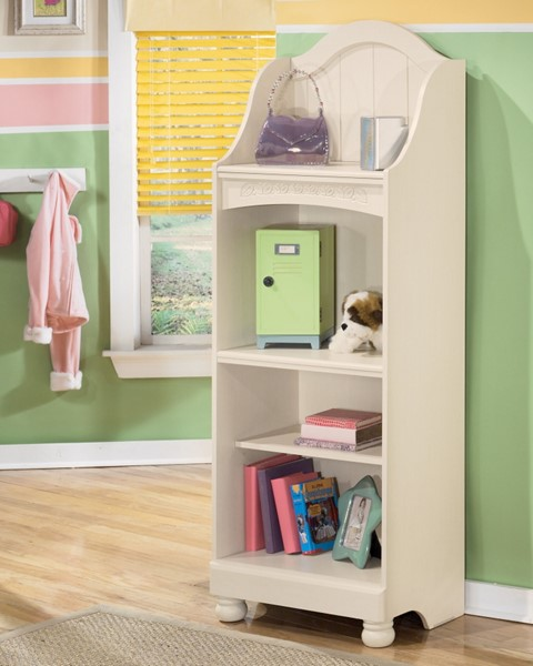 Cottage Retreat Cottage Light Cream Wood Bookcase B213-20