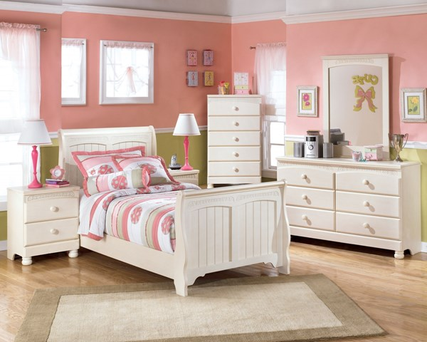 Ashley Furniture Cottage Retreat 2pc Bedroom Set With Twin Sleigh Bed
